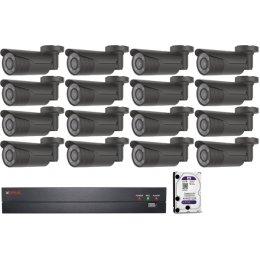16 kamerás varifokális AHD CP PLUS rendszer