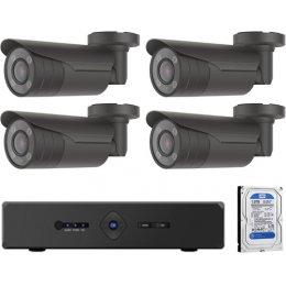 4 kamerás varifokális AHD CP PLUS rendszer