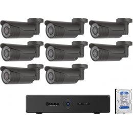 8 kamerás varifokális AHD CP PLUS rendszer