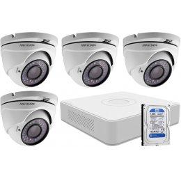 4 dome infrakamerás HIKVISION HDTVI