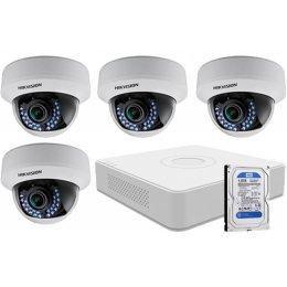 4 varifokális dome infrakamerás HIKVISION HDTVI